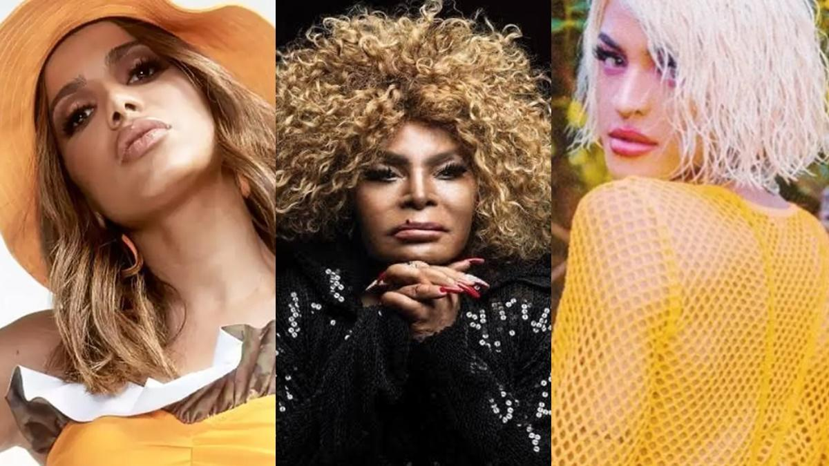 Anitta, Elza Soares e Pabllo Vittar Grammy Latino 2020