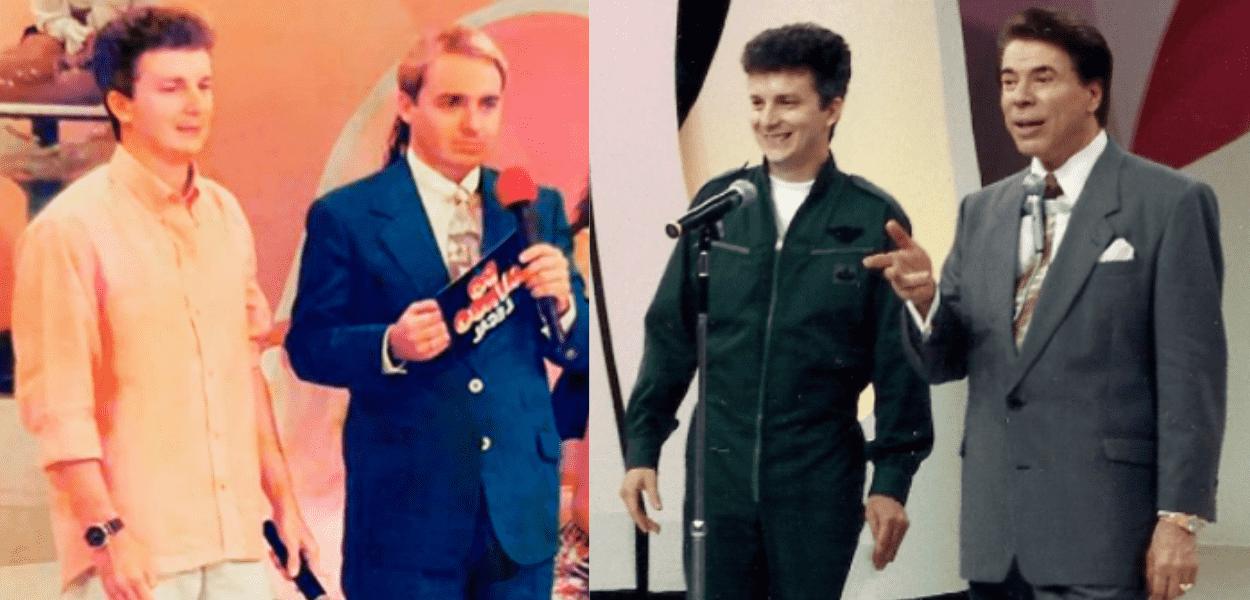 Celso Russomanno em fotos durante sua passagem como repórter do SBT
