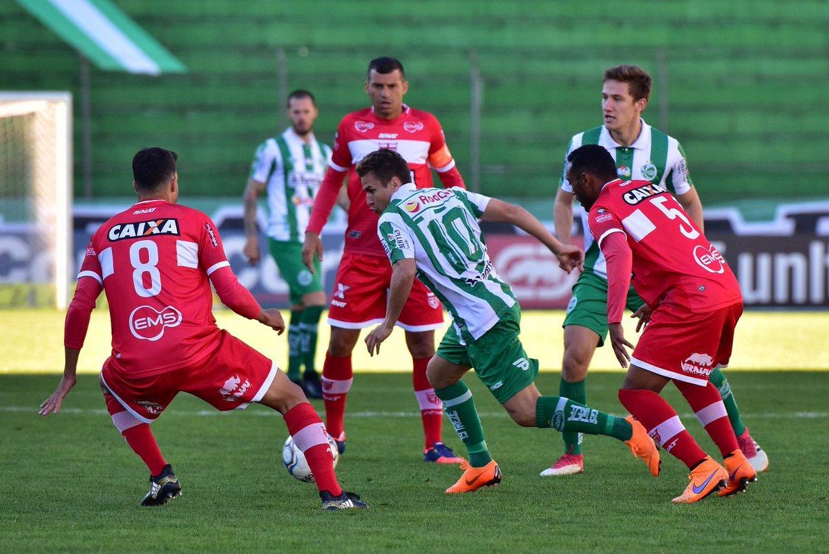 Jogo pela Copa do Brasil entre CRB e Juventude