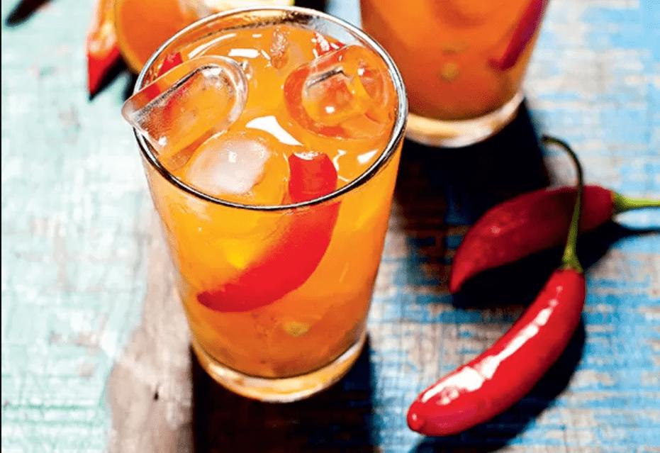 Caipiroska com pimenta
