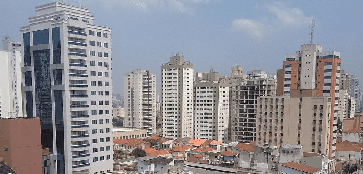Foto panorâmica da Vila Mariana, um dos melhores Bairros de SP
