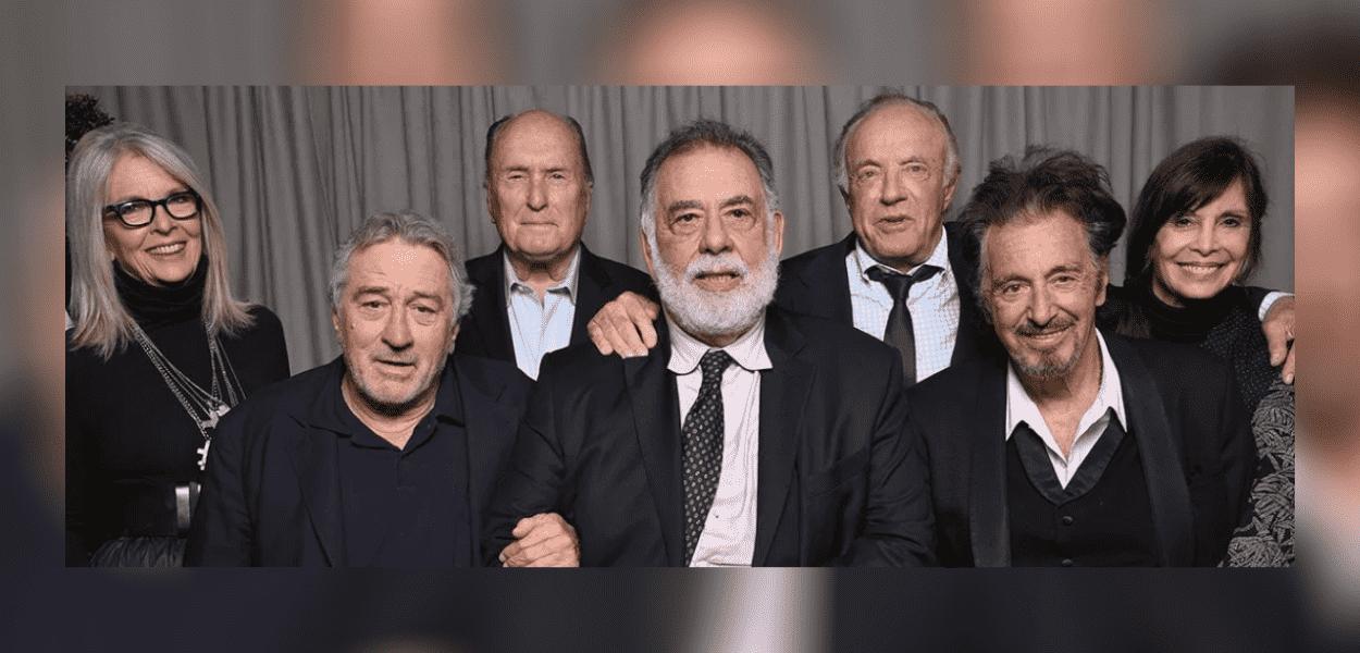 Diane Keaton, Robert De Niro, Robert Duvall, Francis Ford Coppola, James Caan, Al Pacino e Talia Shire