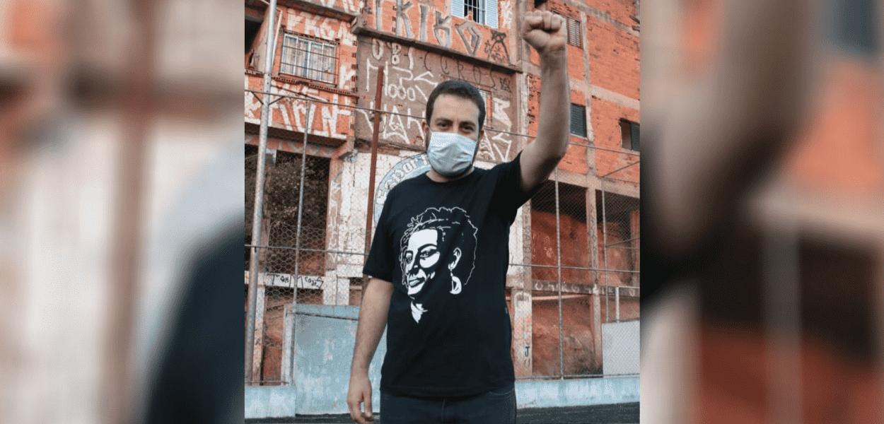 Guilherme Boulos, candidato do PSOL à prefeitura de SP nas eleições 2020