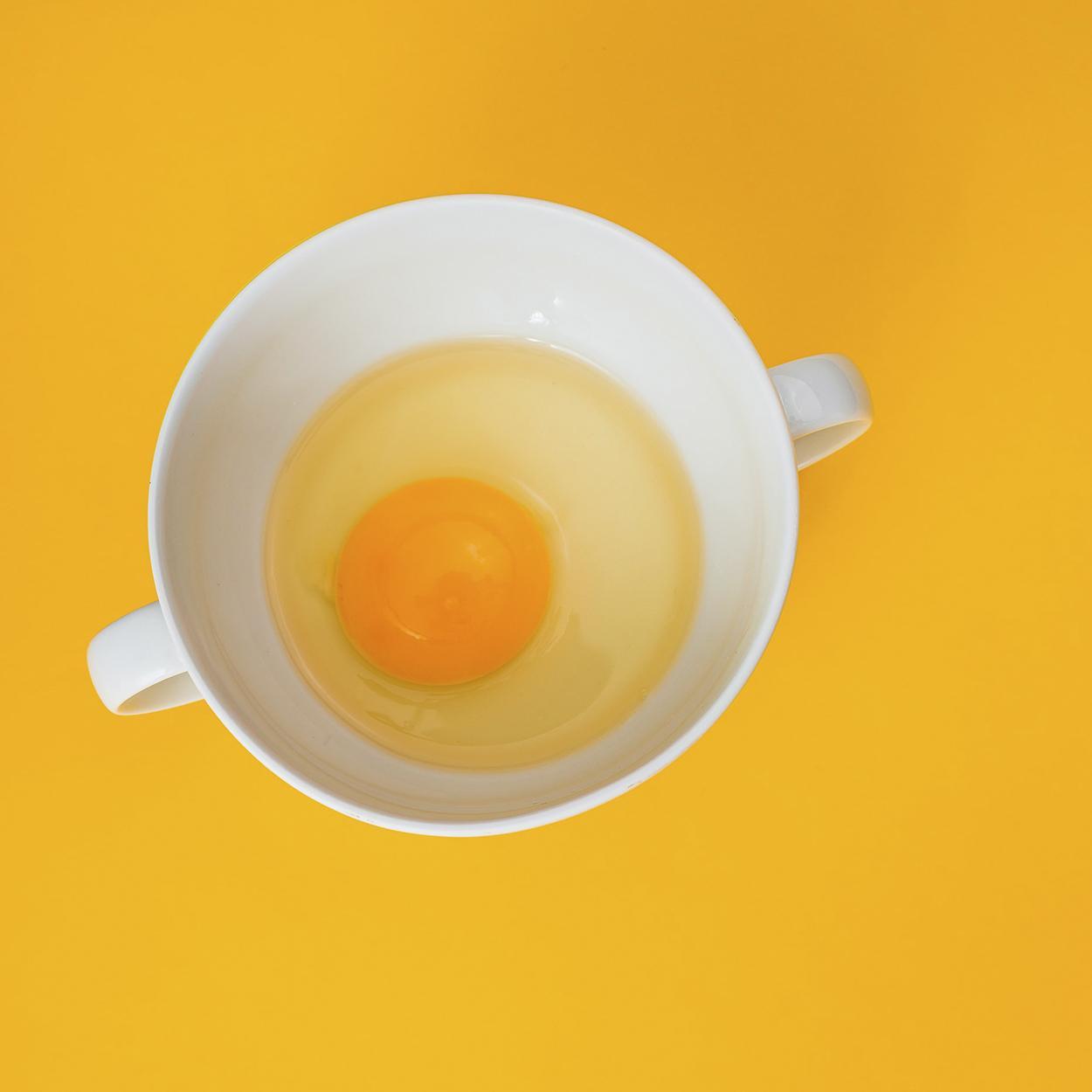 Hidratação Natural para Cabelo com ovo