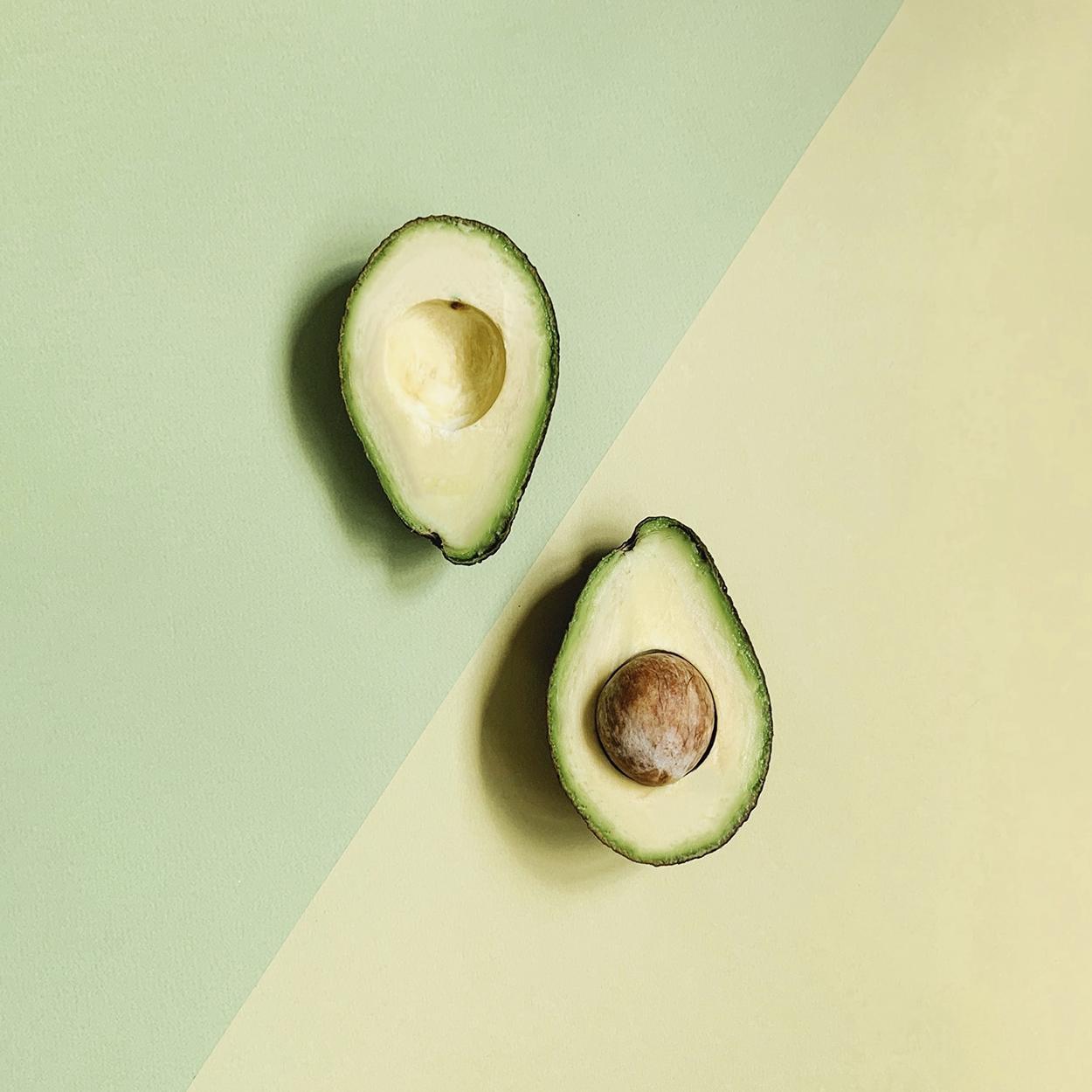 Hidratação Natural para Cabelo com abacate