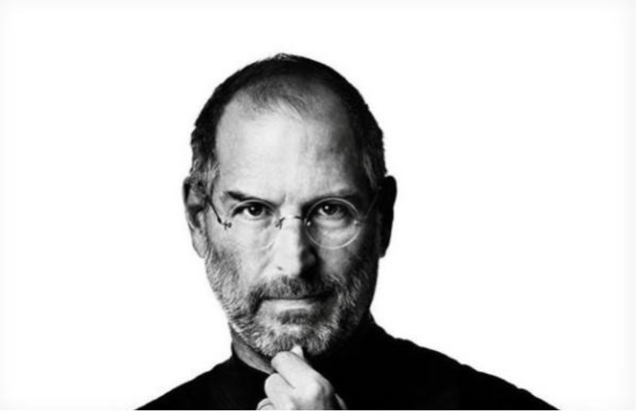 Foto mostra Steve Jobs