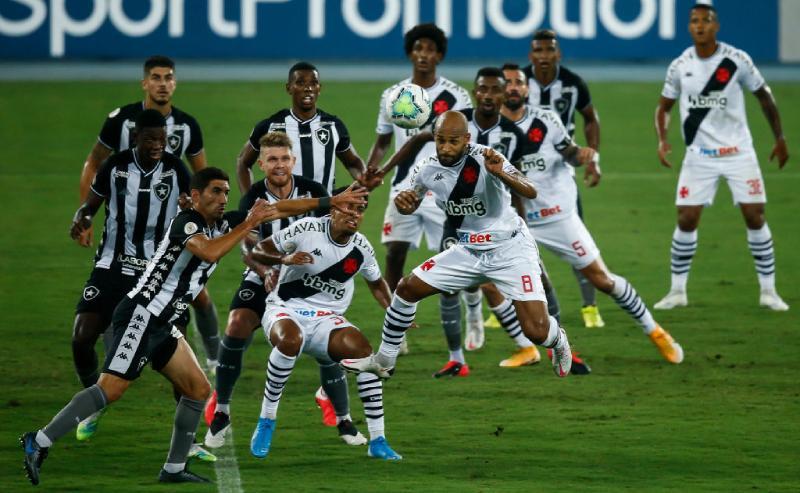 Duelo entre Vasco e Botafogo