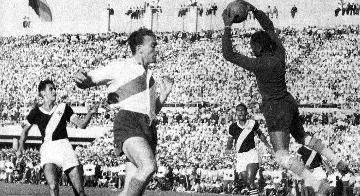 Final da Copa dos Campões da América entre River Plate e Vasco