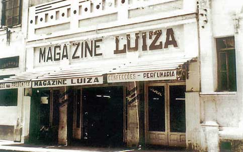 Primeira loja Magazine Luiza