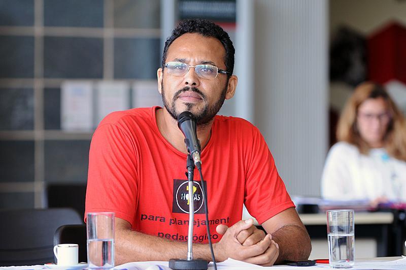 Foto mostra candidato às eleições de BH 2020, Wanderson Rocha