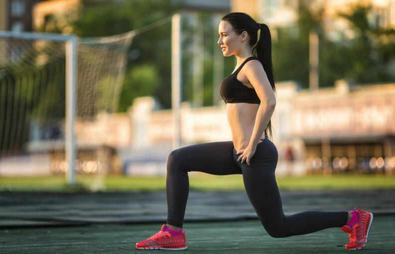 Avanço é exercício para perder barriga