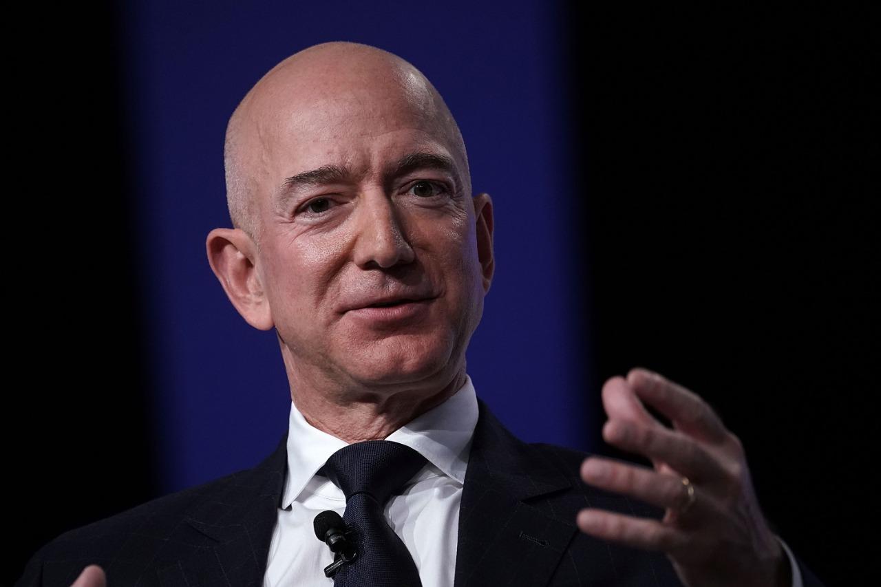 Fundador da Amazon Jeff Bezos