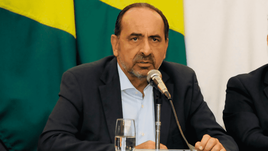 Foto mostra candidato nas eleições de BH 2020, Alexandre Kalil