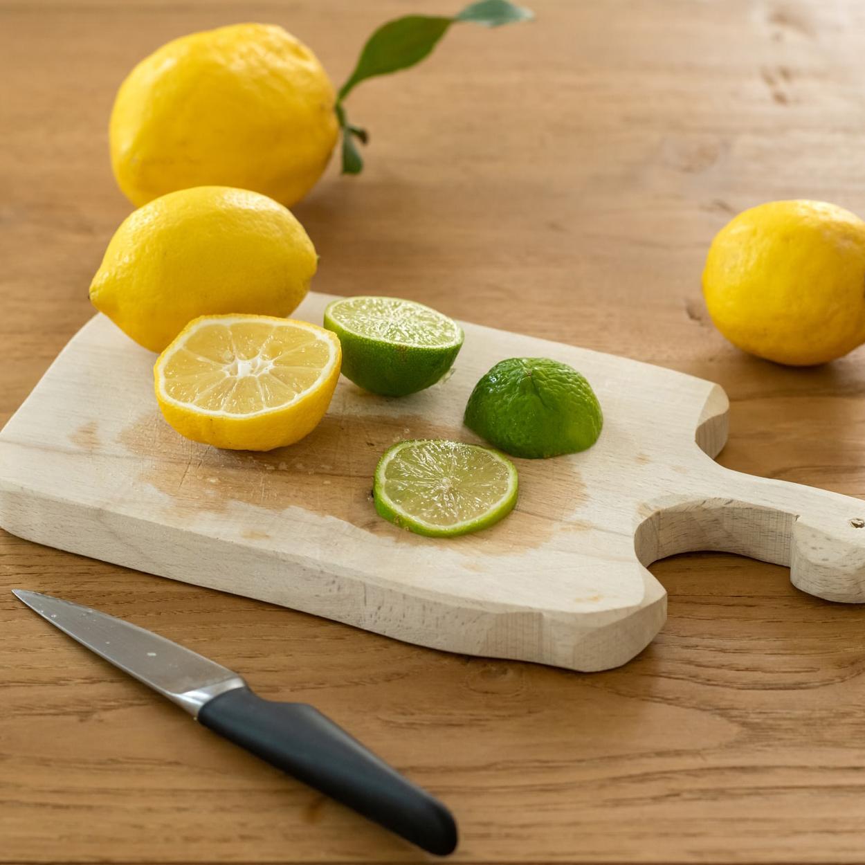 Receita de bolo de limão.