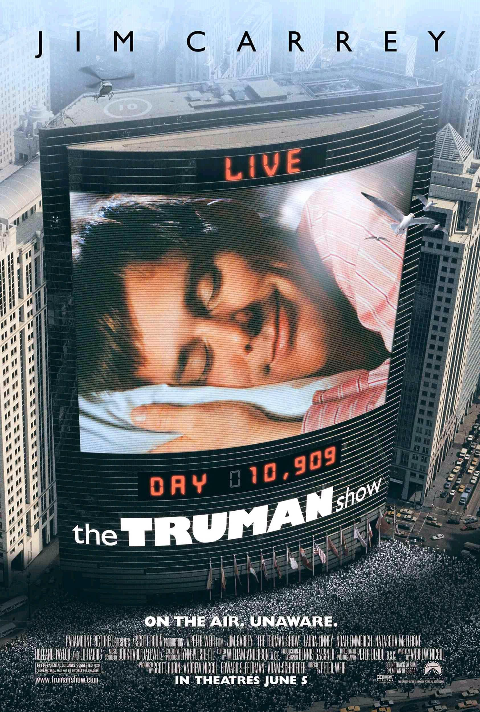 show de truman filme anos 90