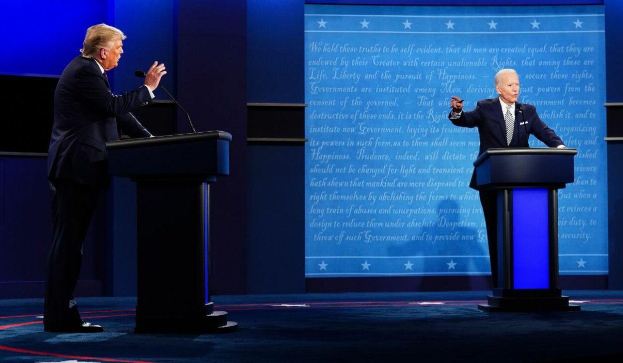debate entre Trump e Biden