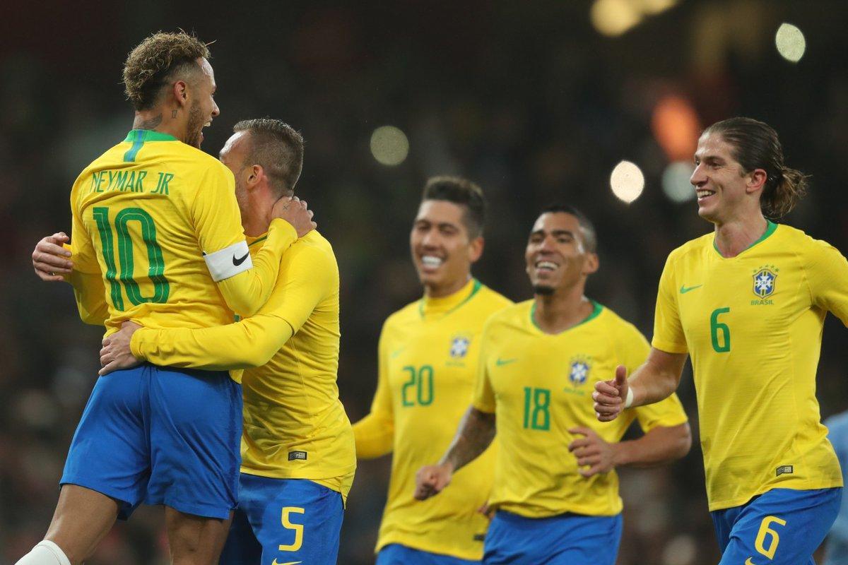 Seleção Brasileira estreia dia 9 na Eliminatórias da Copa do Mundo 2022