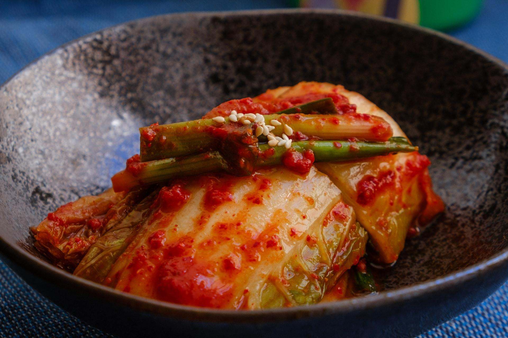 fermentação natural receita de kimchi