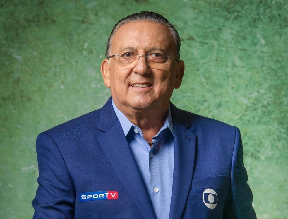 Galvão Bueno é o narrador oficial da Fórmula 1 na Globo