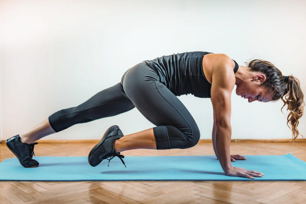 Corrida horizontal é Exercício para perder barriga