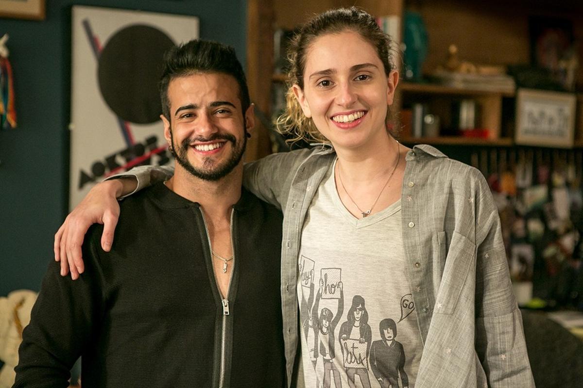 Tarso Brant e Carol Duarte