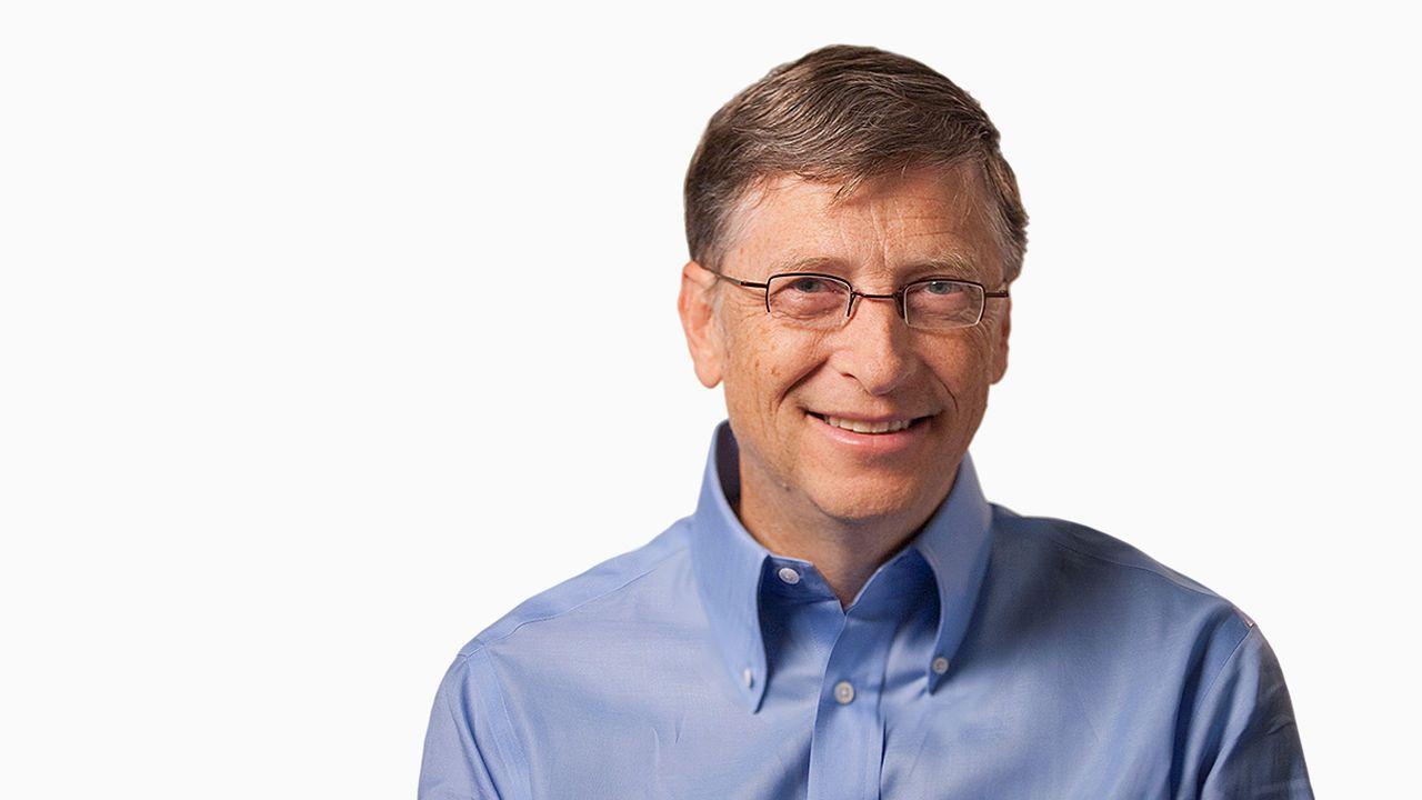 O ícone mundial Bill Gates