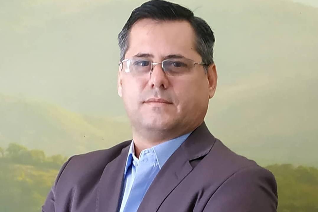 Foto mostra candidato às eleições de BH 2020, Cabo Xavier