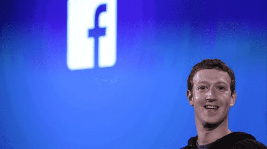 Foto mostra Mark Zuckerberg