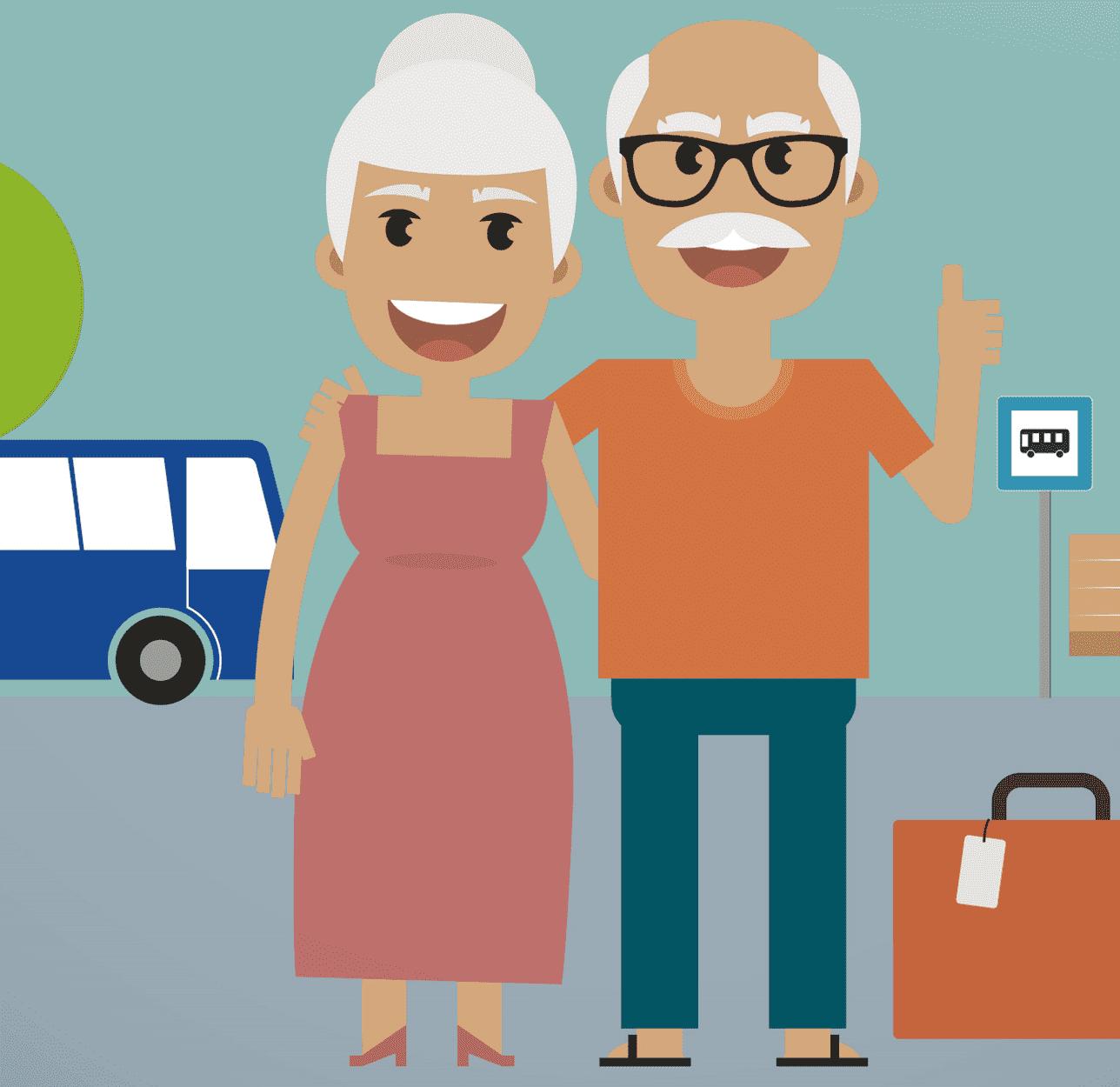 viagens gratuitas para idosos