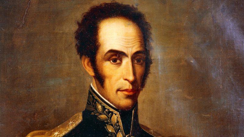 Simon Bolívar, principal 'libertador' da América