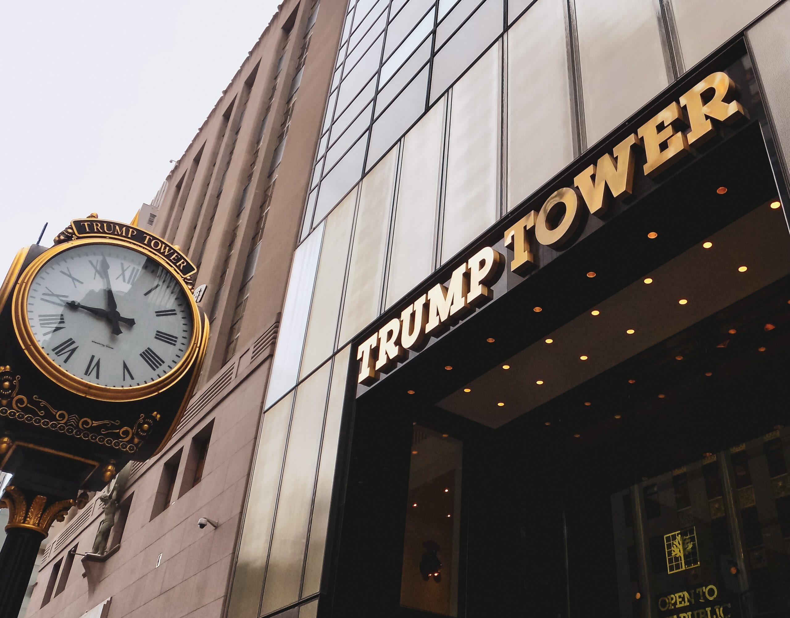 Trump Tower é uma das empresas do presidente