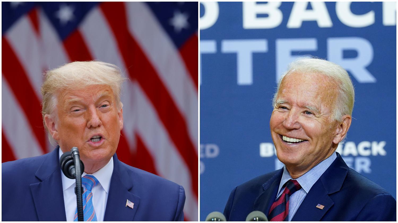 Eleições dos EUA: Trump ou Biden, quem está na frente?