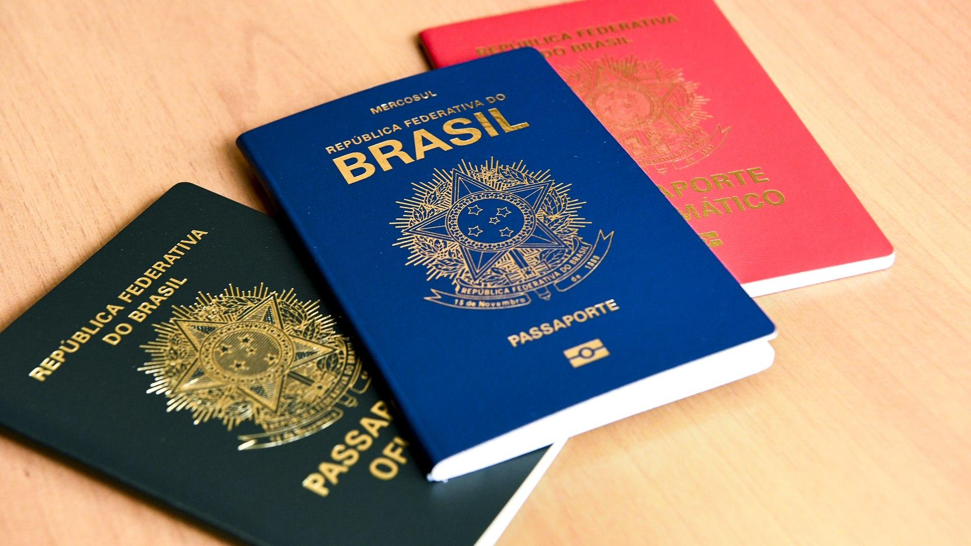 Passaporte com nome sujo