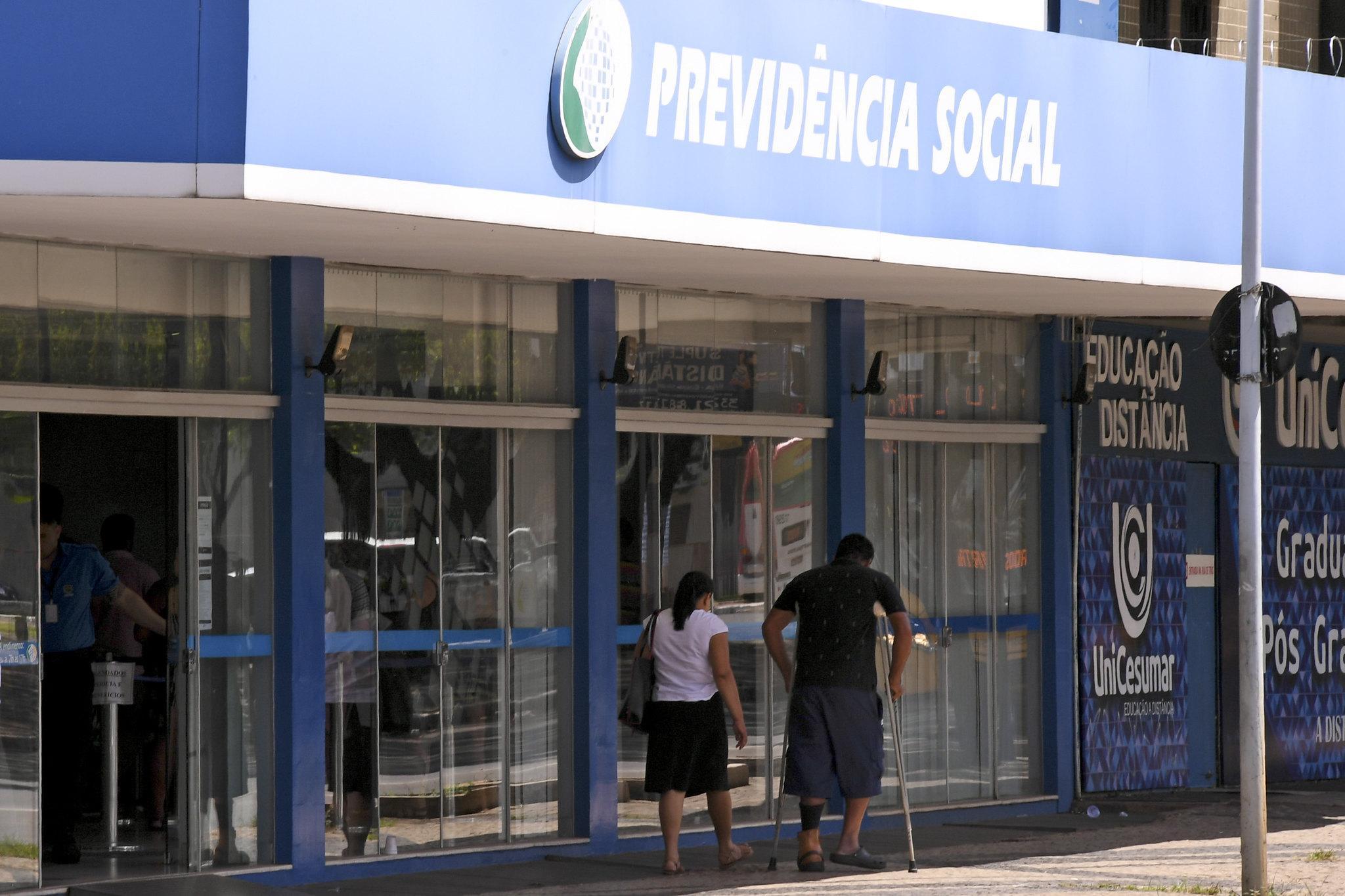 Fachada do Instituto Nacional do Seguro Social (INSS)