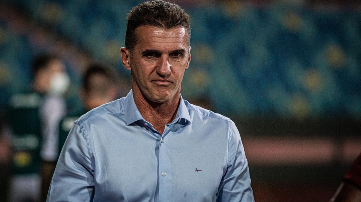 Vágner Mancini, novo técnico do Corinthians