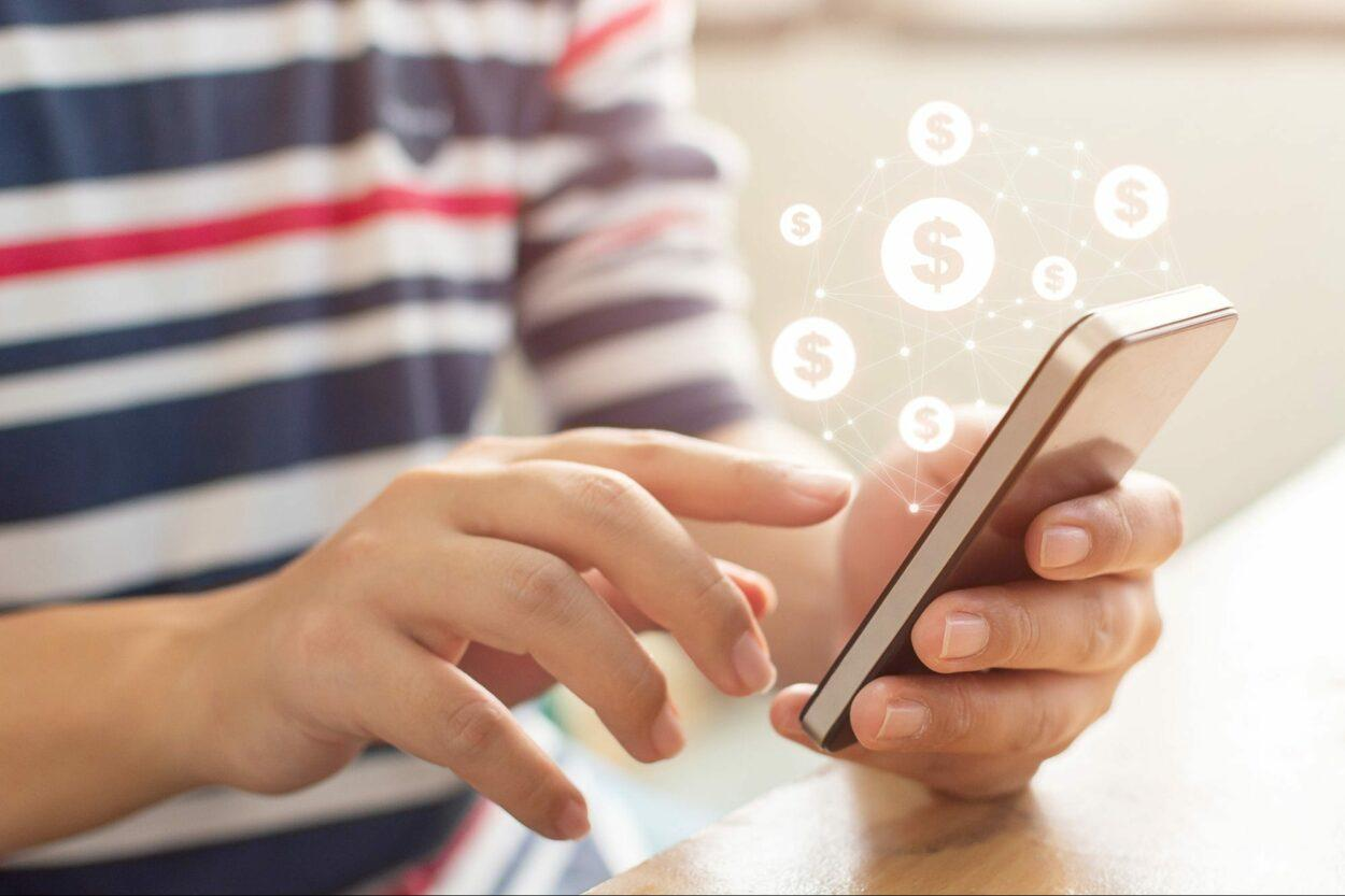 transferência bancária via celular pix, pagamento instantâneo