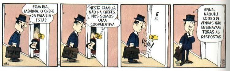 Tirinha Mafalda