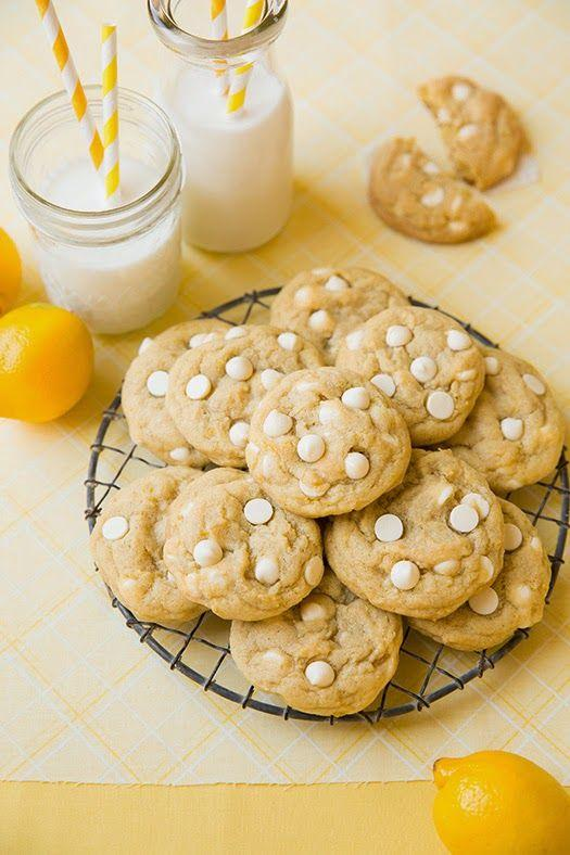 Cookie de chocolate branco
