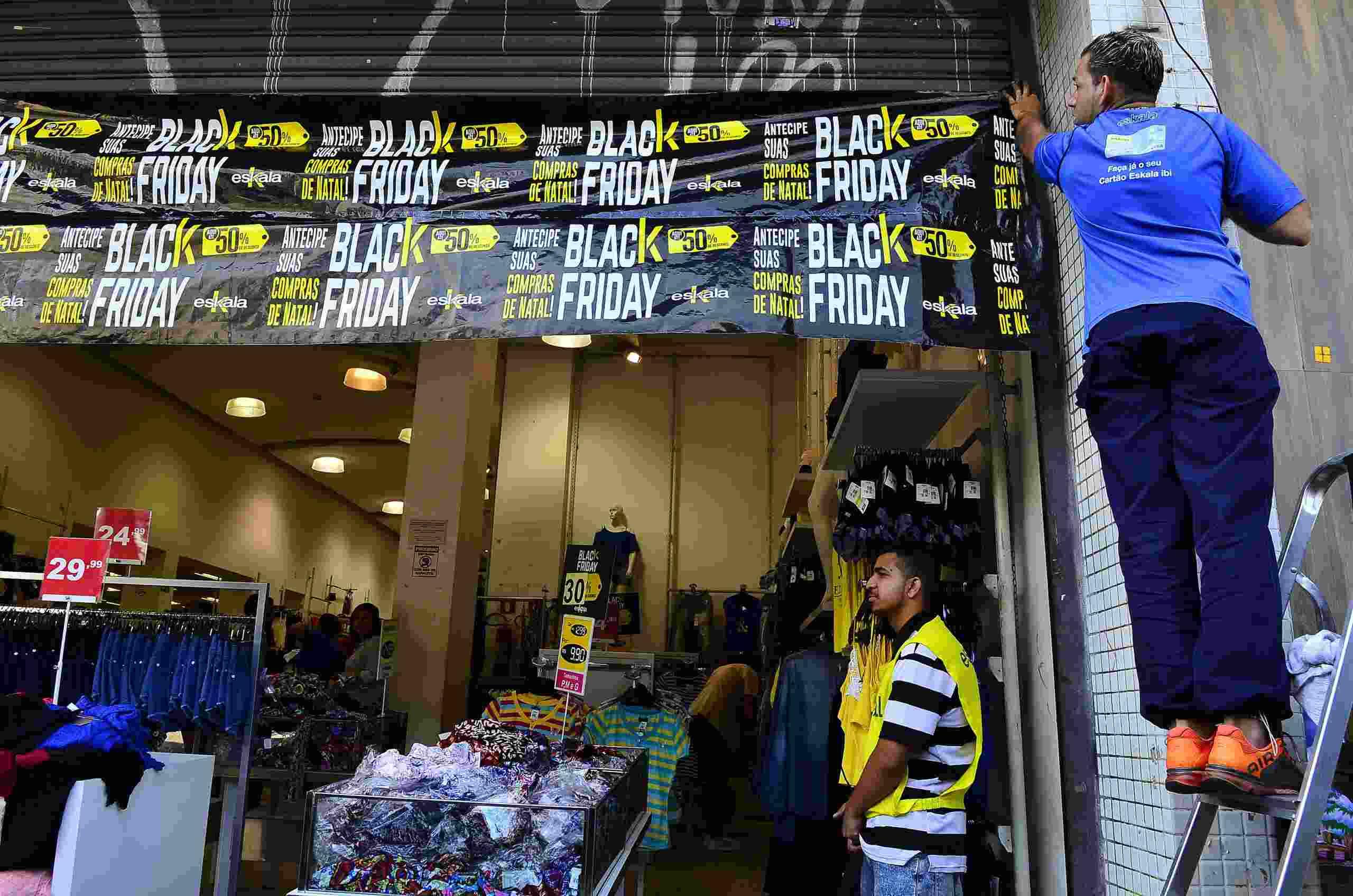 Comerciantes estão otimistas com a Black Friday 2020. Foto: Rovena Rosa/Agência Brasil