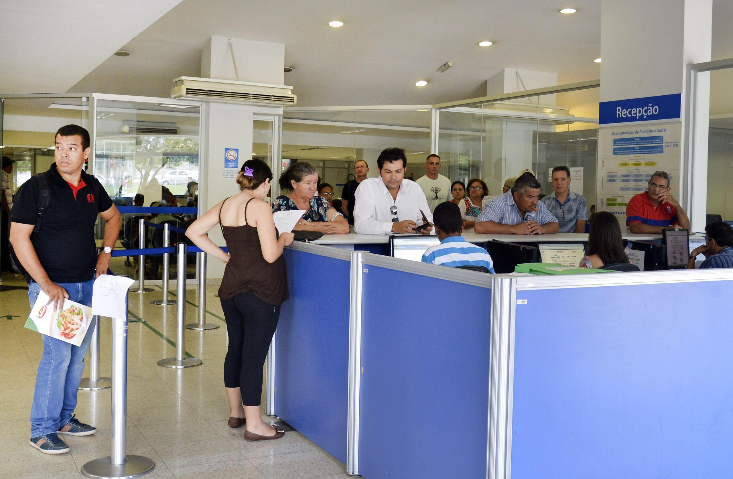 Prova de vida do INSS segue suspensa até fim do mês. Foto: Valter Campanato/Agência Brasil