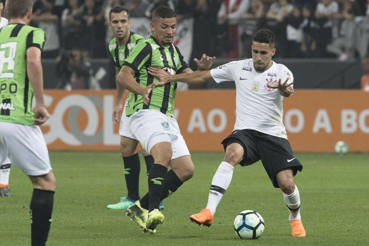 Corinthians enfrenta América MG nas oitavas da Copa do Brasil