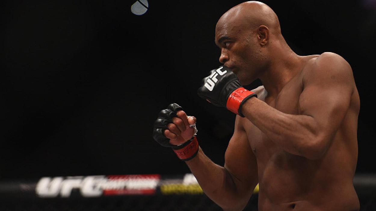Anderson Silva se despede do UFC