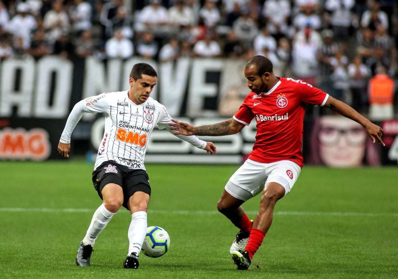 Confronto entre Corinthians x Internacional acontece na Neo Química Arena