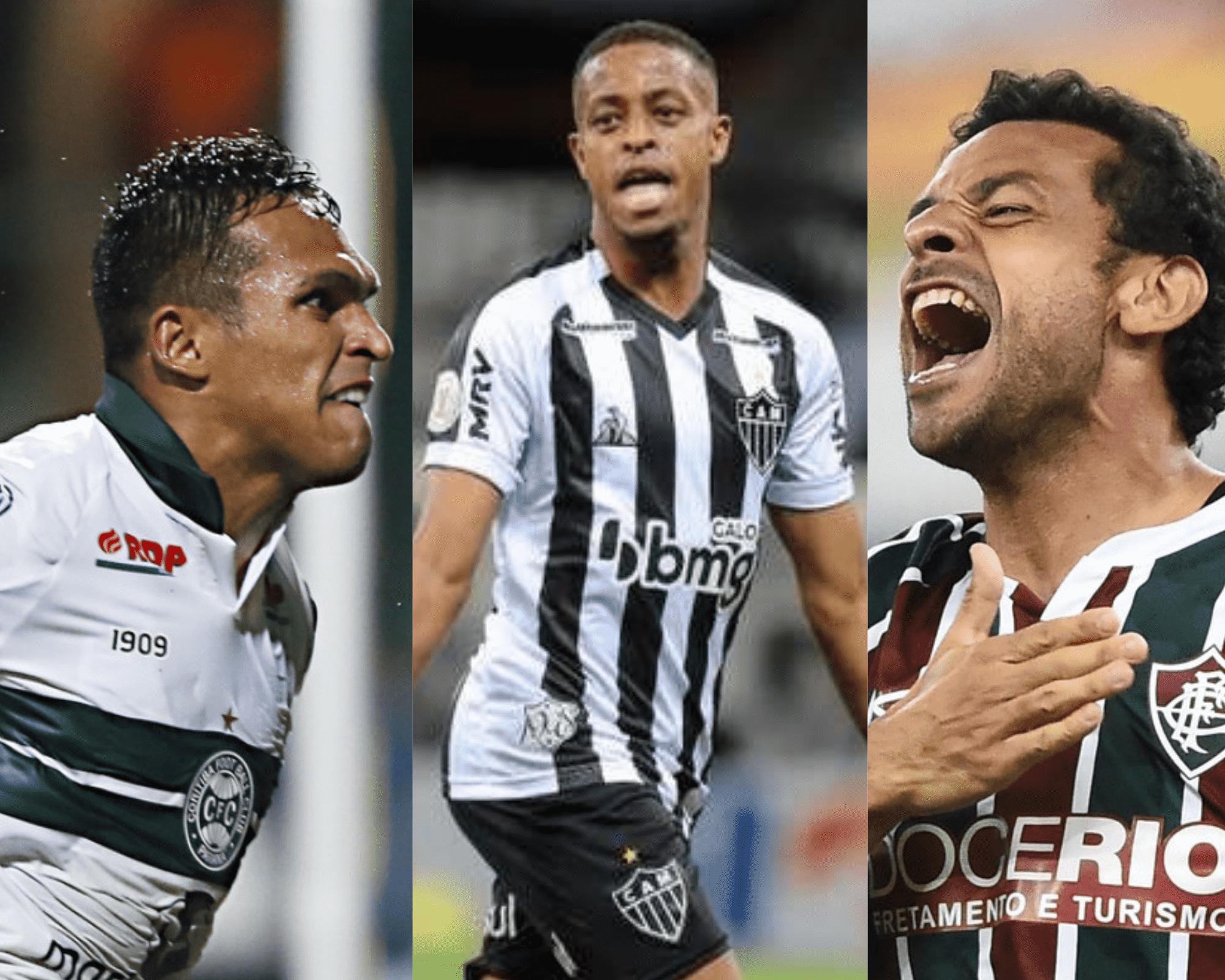 Imagem mostra jogadores do Cartola FC suspensos