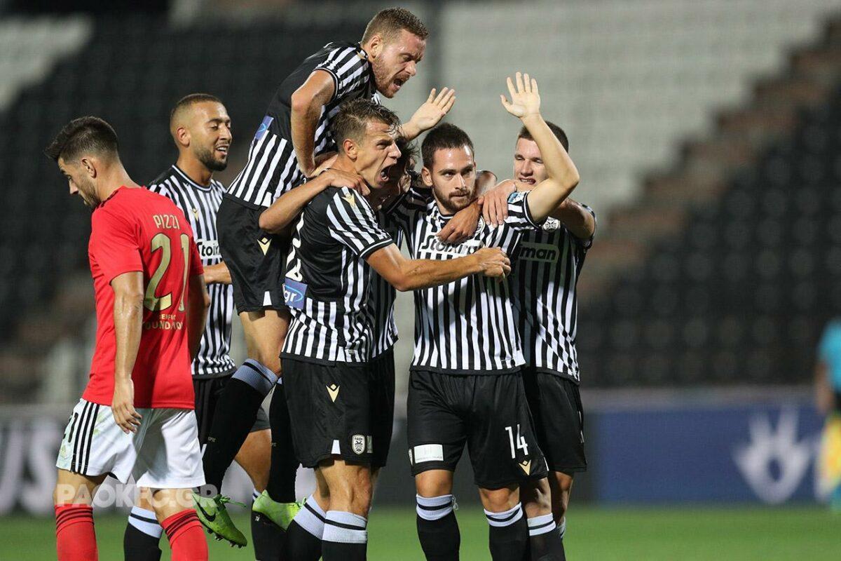 PAOK eliminou o Benfica de Jesus, na fase preliminar da Champions desta temporada