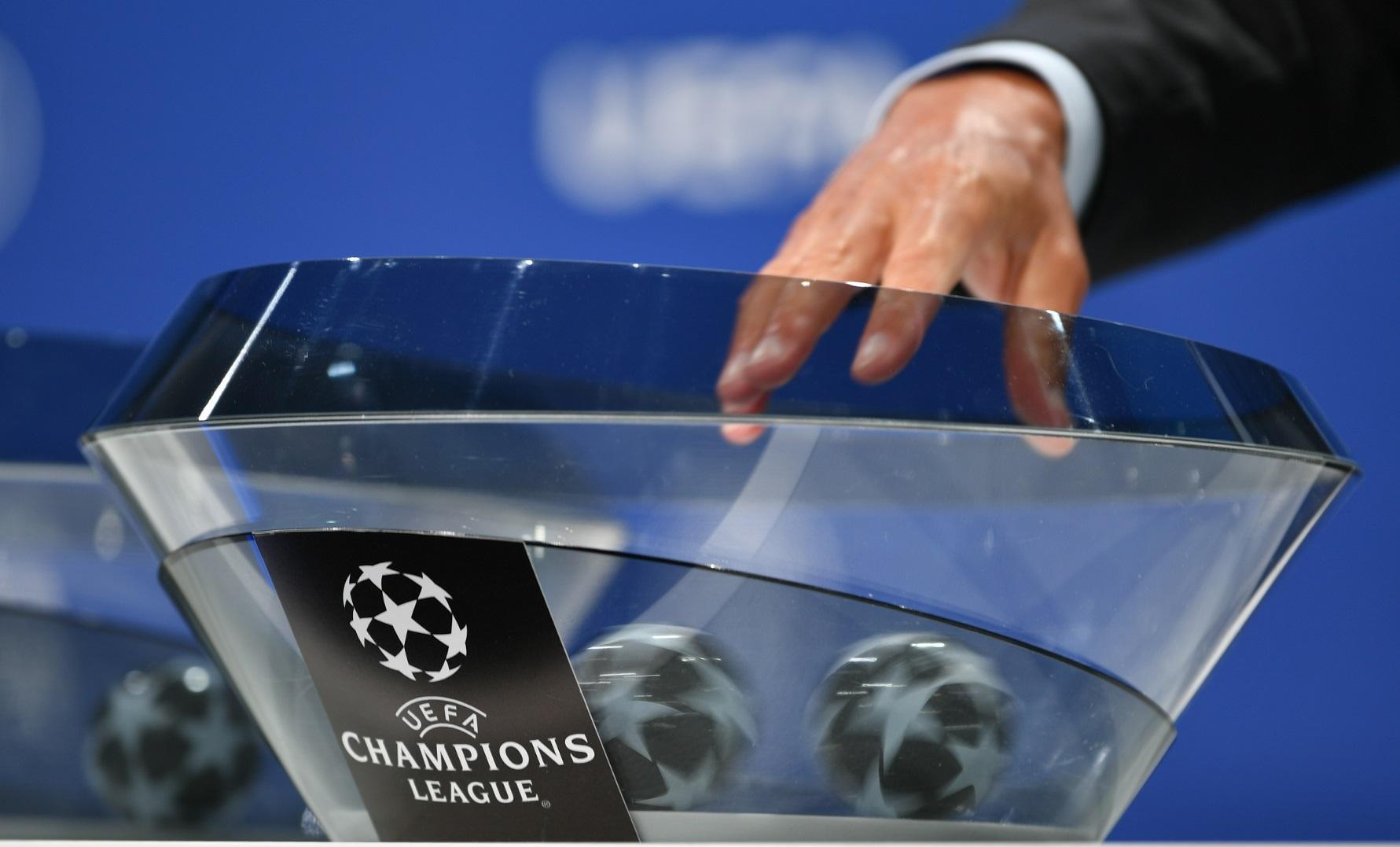 Sorteio da Champions League