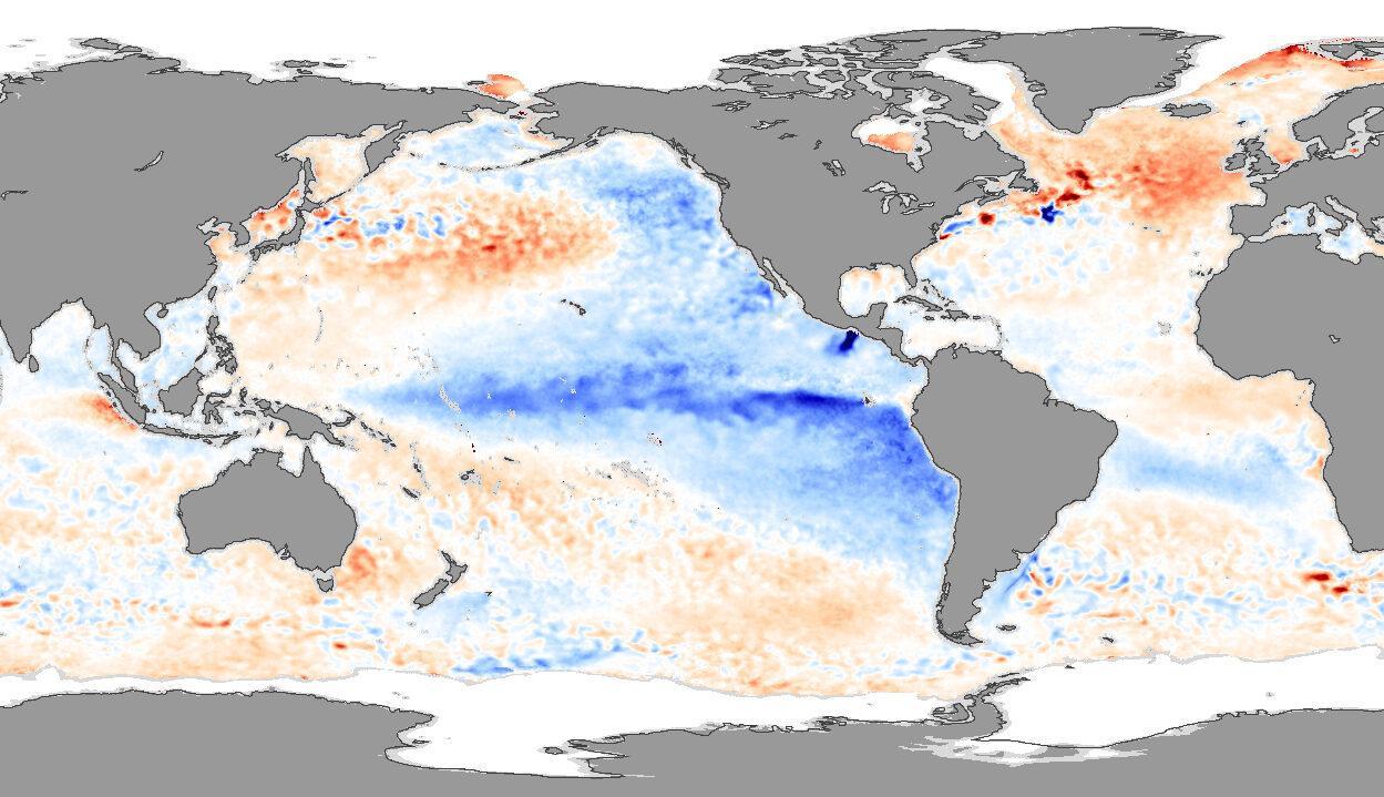 Evento climático La Niña