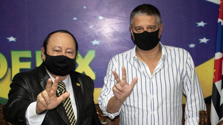 Jairo Glikson candidato vice-prefeito de levy Fidelix eleições 2020