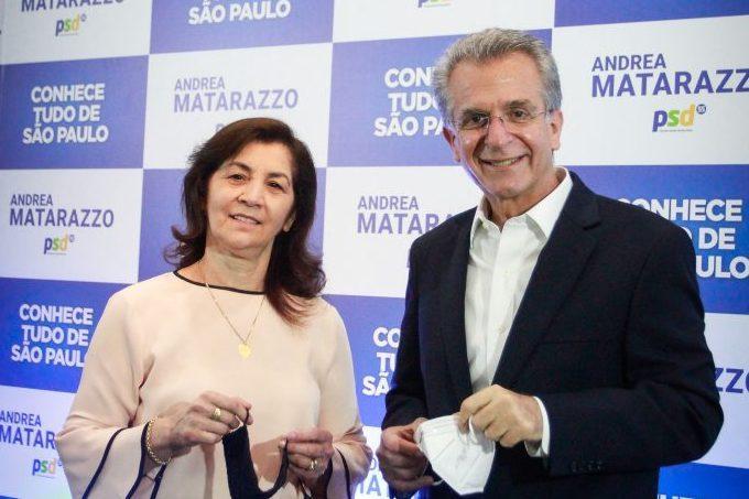Marta Costa candidata a vice-prefeito de Andrea Matarazzo eleições 2020