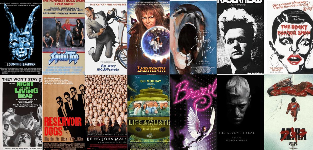 Os 20 melhores filmes cult e onde assisti-los